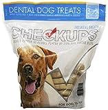 Checkups- Dental Dog Treats, 24ct 48 oz. for Dogs 20+ pounds