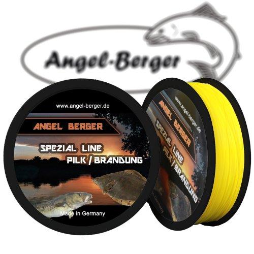 Angel-Berger Spezial Line Angelschnur Zielfischschnur Aal, Forelle, Hecht, Zander, Karpfen, Dorsch, Weissfisch (Pilk/Brandung, 0,35mm / 11,40Kg)