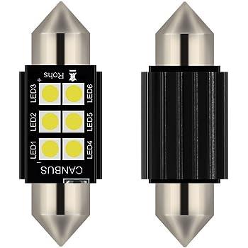 Philips automotive lighting 129466000KX1 X-tremeUltinon LED Luce per abitacolo C5W 43mm Festoon 6000K 12V 6000 Kelvin 1 Pezzo