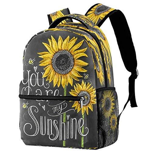 Mochila de béisbol de color amarillo para la escuela, mochila para el libro, mochila informal para viajes, estampado 3 (Multicolor) - bbackpacks004