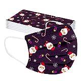 Weihnachtsmaske Weihnachtsmann Zuckerstange