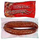 Hot Hungarian Brand Smoked Sausage, 'Csipos Gyulai Kolbasz', 2 Links per Pack