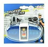 Toi-Toys 55008A - Fahrradlampe Polizei mit Sirene und...