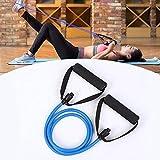 HeTaiDa Gymnastikbänder mit Griffen Fitnessbander 15-20 lb Strecken Expander Für Pilates...