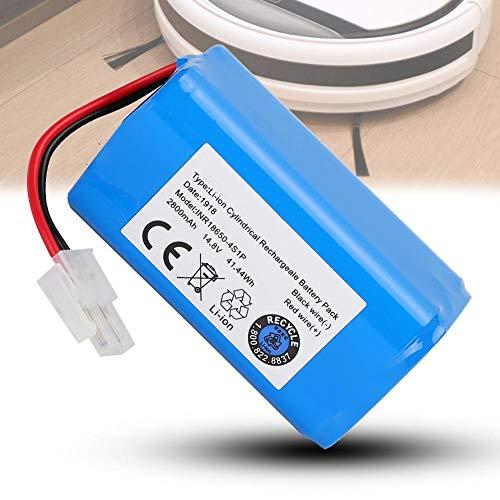 Batería de repuesto, voltaje 14,8 V sin efecto memoria azul 14,8 V voltaje batería de vacío, para robot aspirador Ilife A4 A4S A6 V7 Robot Bms System