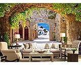 Liebe Meerestapeten | große technische gemälde mediterrane gemälde hotel cafe ktv | Tapete Hintergrund Tapetenpaste Randeffekt unter Schlafzimmer300cm×210cm