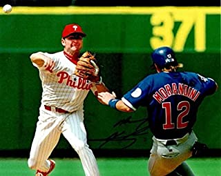 Autographed Signed Mickey Morandini 8x10 Chicago Cubs Photo - Certified Authentic