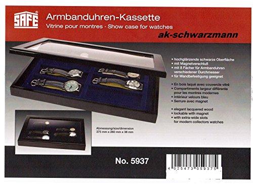 SAFE 5937 Holzvitrine für Armbanduhren