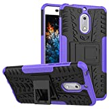 MRSTER Nokia 6 Case, Tyre Pattern Design Heavy Duty Extreme
