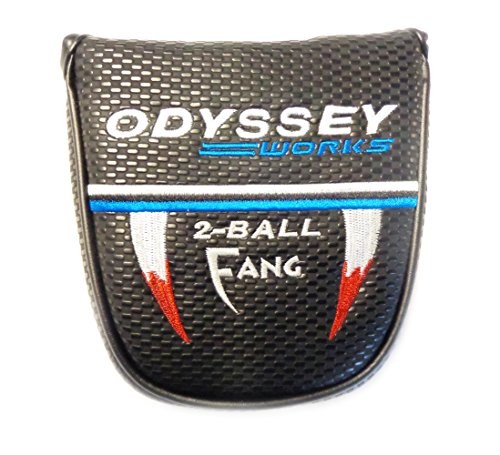 NEW Odyssey Works 2-Ball Fang Mallet Putter Cover Headcover