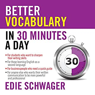 Better Vocabulary in 30 Minutes a Day cover art