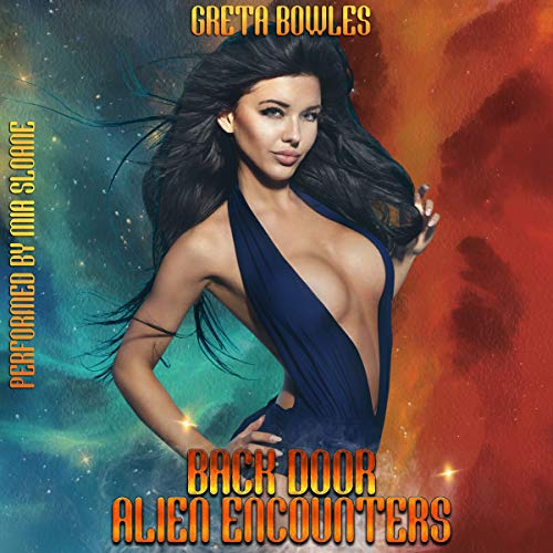 Back Door Alien Encounters audiobook cover art