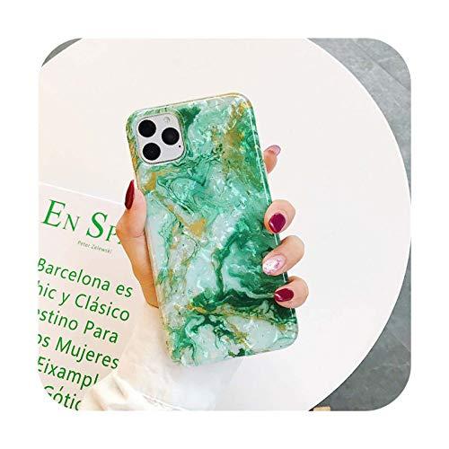 Océano color mármol Shell patrón teléfono casos para iPhone 11 11 Pro MAX X XS caso para iPhone 7 6 6S 8 Plus cubierta suave 3-para iPhone 6