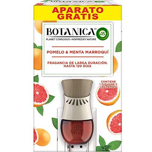 Botanica by Air Wick - Ambientador Eléctrico, Esencia Para Casa Con Aroma A Pomelo Y Menta Marroquí, Aparato Y Recambio