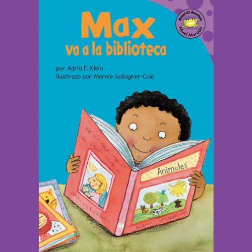 Max va a la biblioteca (Max Goes to the Library) audiobook cover art