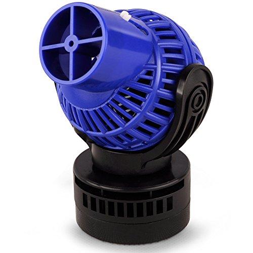 AquaOne Aquarium Strömungspumpe JVP-130 4000 L/h 6 Watt Umwälzpumpe Wave Maker Pumpe Süßwasser Meerwasser Aquariumströmungspumpe