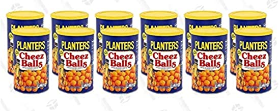 (12 canisters) Planters Cheez Balls, 2.75 Oz each
