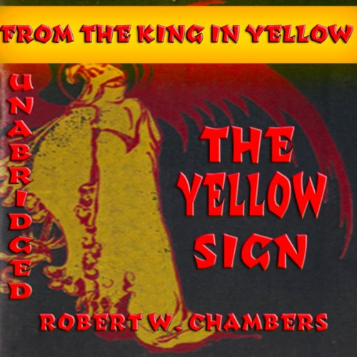 The Yellow Sign audiobook cover art