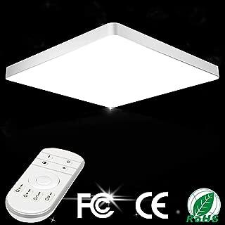 LED Ceiling Lights 20W Dimmable Flush Mount Ceiling Light 1600lm 3000k-6500k LED Ceiling Lamp 11.8 -inch 30 cm Round Indoor Lighting for Kitchens Corridor Livingroom Bedroom
