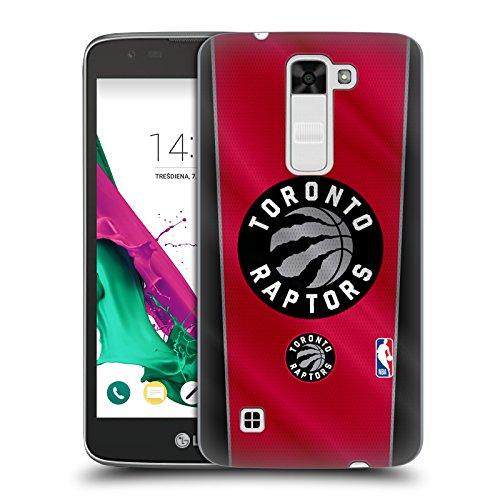 Head Case Designs Oficial NBA Banner Toronto Raptors Carcasa rígida Compatible con LG K7 K330 / Tribute 5
