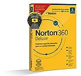 Norton 360 Deluxe 2021 - Antivirus software para 5 Dispositivos, 15 Meses, para PC, Mac, tableta o smartphone