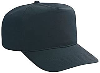 Otto Cotton Twill High Crown Golf Style Caps