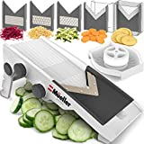 Mueller Austria Premium Quality V-Pro Multi Blade Adjustable Mandoline Cheese/Vegetable Slicer, Cutter,...