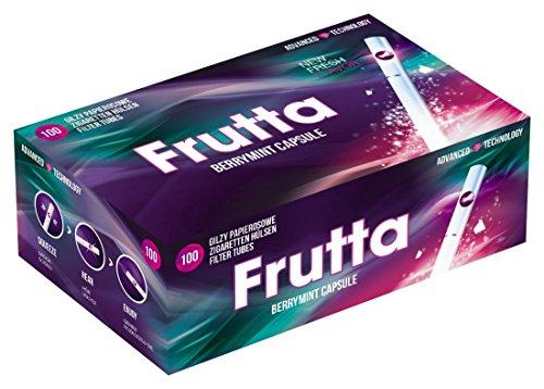 FRUTTA Click Hülsen Berry Mint Filterhülsen mit Aromakapsel (5x100)