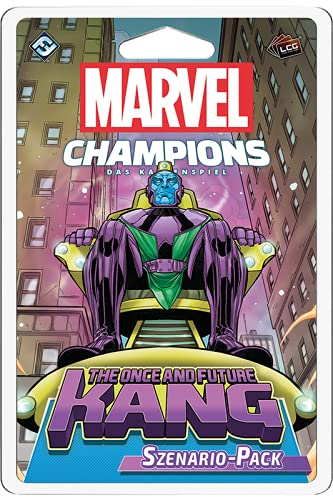 Asmodee Marvel Champions: El Juego de Cartas The Once and Future Kang, expansión de Escenario, construcción en alemán