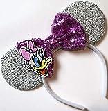 CLGIFT Daisy Minnie ears, Daisy Duck Minnie mouse ears,...