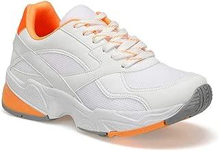 19SF-1623 Turuncu Kadın Sneaker Athletik