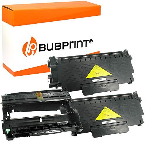 Bubprint 2 Toner und Trommel kompatibel für Brother TN-2320 DR-2300 für DCP-L2500D DCP-L2520DW DCP-L2540DN DCP-L2560DW HL-L2300D HL-L2340DW HL-L2360DN HL-L2365DW MFC-L2700DN MFC-L2700DW
