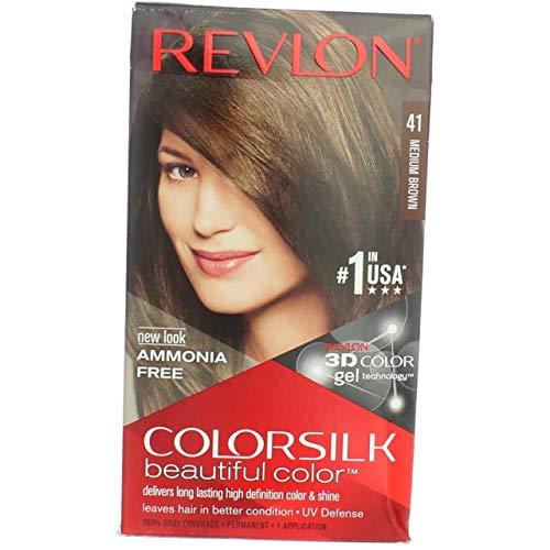 Revlon - Tinte Sin Amoniaco Colorsilk Revlon Castaño