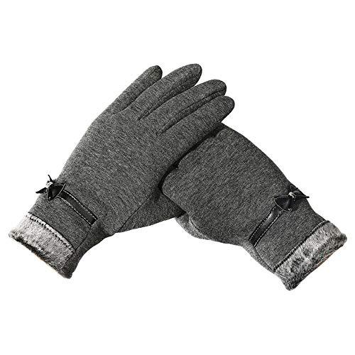 OSYARD Damen Handschuhe Fäustlinge Kreative TouchscreenWinterhandschuhe Strickhandschuhe Wollhandschuhe, Frauen Pulswärmer Casual Winter Outdoor Sports Reithandschuhe Warme Winddichte Handschuhe