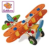 Eichhorn - 100039031 - Jeu Construction Bois - Constructor Avion 85 Pcs - 4 Modèles à  Réaliser