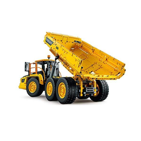 LEGO- Technic Dúmper Articulado Volvo 6x6 Power Functi Camión de Juguete, Vehículo de Construcción, Multicolor (42114)
