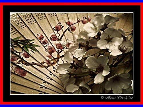 YYone 500 Piece Wooden Jigsaw Puzzle Flowers from The Orient Large Puzzle Game for Adults and Teenagers