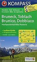 Bruneck / Toblach - Brunico / Dobbiaco 1 : 50 000: Hochpustertal - Alta Pusteria. Wander-, Bike- und Skitourenkarte