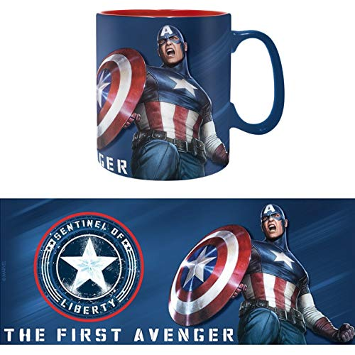 ABYstyle - MARVEL - Taza - 460 ml - Sentinel of Liberty