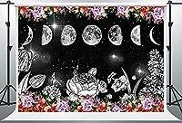HDパープルちょう結び甘い16背景7x5ftビニールゴールデンエッフェル塔黒背景誕生日パーティーバナーBJLSPH156