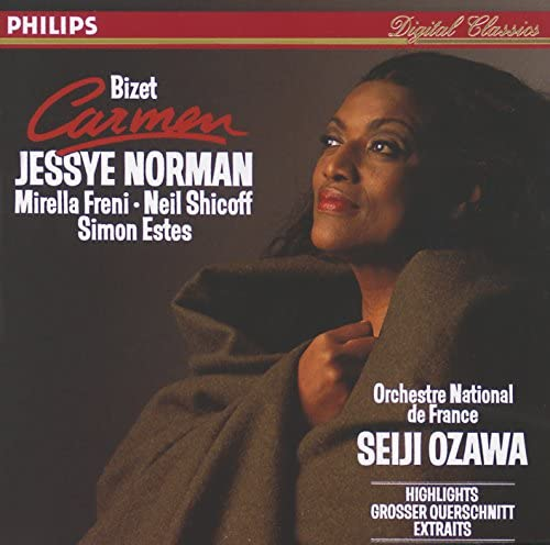 Jessye Norman, Mirella Freni, Neil Shicoff, R.T.F. Choeur De Radio France, R.T.F. National Orchestre & Seiji Ozawa