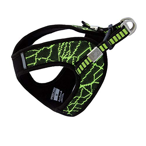 BORORO Escape Free Sport Dog Harness for Dogs That Pulls and Escapes (Small Chest (17.3-19.3
