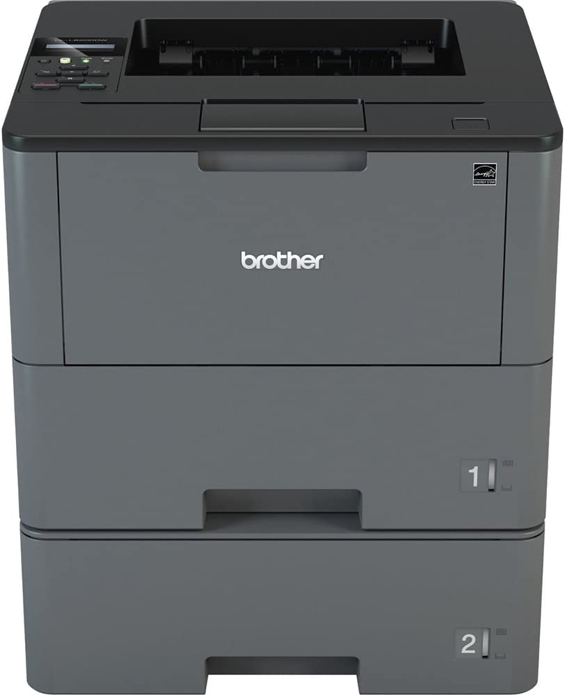 Brother HL-L6200DWT Wireless Monochrome Laser Printer with Duplex Printing and Dual Paper Trays (Amazon Dash Replenishment Ready)