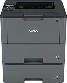 Brother HL-L6200DWT Wireless Monochrome Laser Printer with Duplex Printing and Dual Paper Trays (Amazon Dash Replenishment...