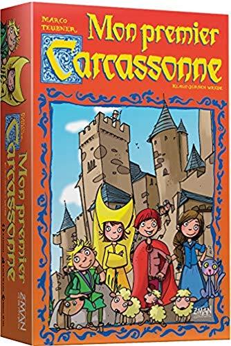 Mon Premier Carcassonne - Asmodee - Jeu de société - Jeu de Stratégie
