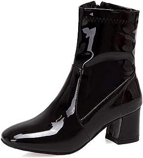 BalaMasa Womens ABS14031 Pu Boots