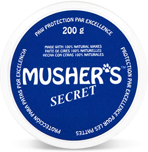 Musher's Secret Pet Paw Protection Wax, 200-Gram