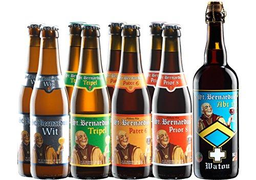 Abteibier Paket St. Bernardus Bier mit 9 Bierflaschen