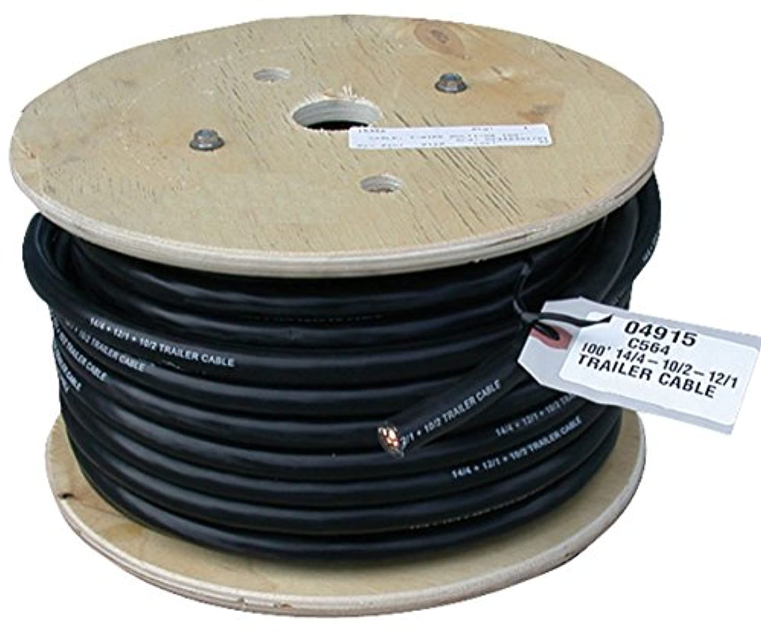 East Penn (04915 100' 7-Wire Multi-Gauge Cable