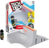 TECH DECK, Bowl Builder X-Connect Park Creator, Customizable and Buildable Ramp Set with Exclusive Fingerboard, Kids Toy for Ages 6 and up
